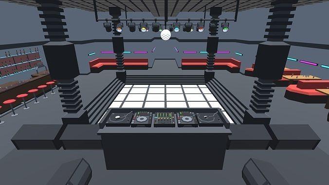 9t5 Low Poly Nightclub