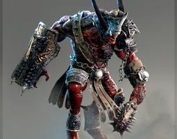 heavy demon 3d model max fbx