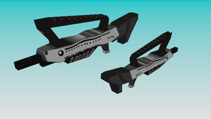 Low Poly Fantasy Weapon Pack 3D Model .obj .3ds