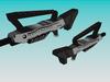 low poly fantasy weapon pack 3d model obj 3ds 7
