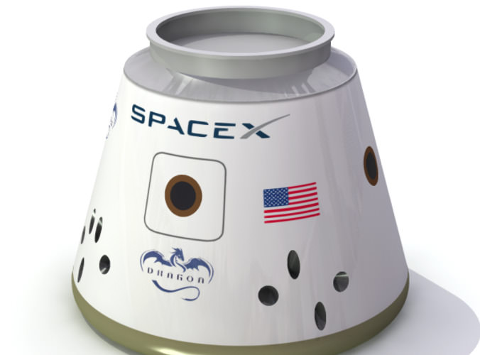 SpaceX Falcon 9 Rocket Model - Pics about space