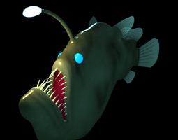 Angler Fish 3D Model