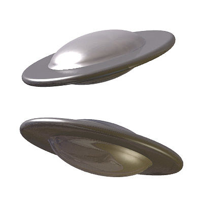 30 realistic flying saucers 3d model 3ds lwo lw lws 16
