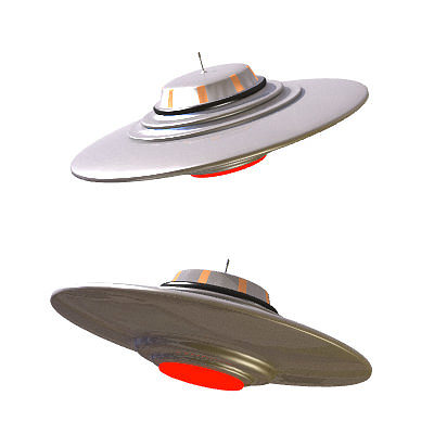 30 realistic flying saucers 3d model 3ds lwo lw lws 20