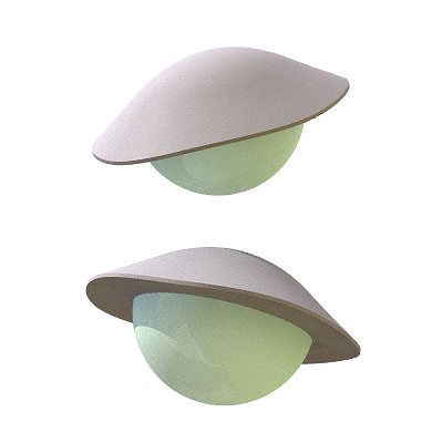 30 realistic flying saucers 3d model 3ds lwo lw lws 5