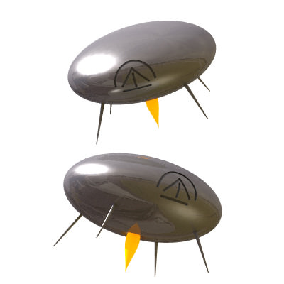30 Realistic Flying Saucers
