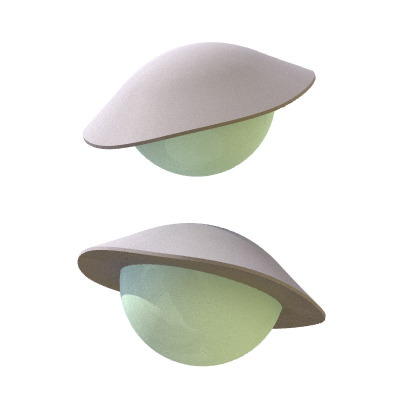30 Realistic Flying Saucers 3D Model .3ds .lwo .lw .lws