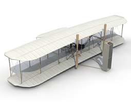 3D model Accurate 1903 Wright Flyer