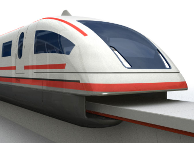 Models of maglev trains video