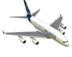 3D A380 Airplane