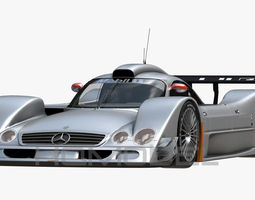 3D model Mercedes Benz CLR99 CLK GT PBR