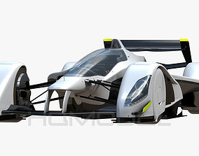 RB X 2010 5G Formula Concept 3D asset