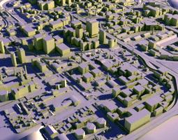 Game City Island 3D asset