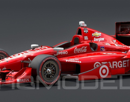 Indy Car Chevy 2015 PBR 3D Model