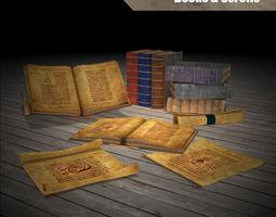 Magic Books 3D Model