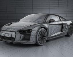 Audi R8 High Quality Cinematic HD Car 3D Model
