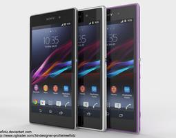 Sony Xperia Z1 3D Model