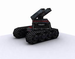 Future tank-package 3D Model