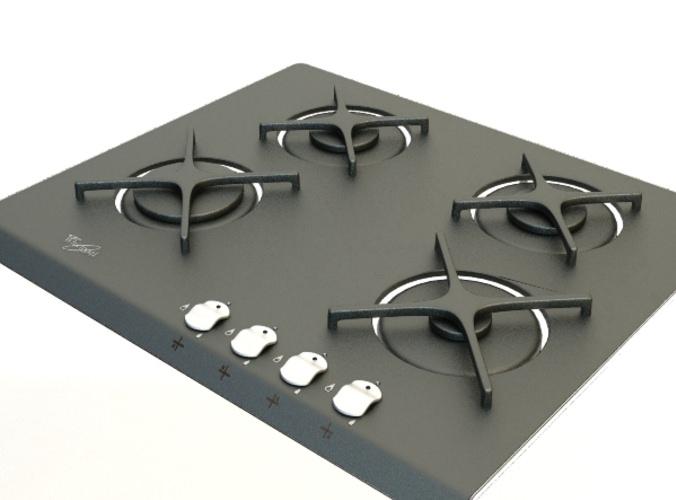 Gas cooker 33D model