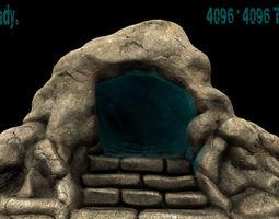 cave 01 realtime 3d model