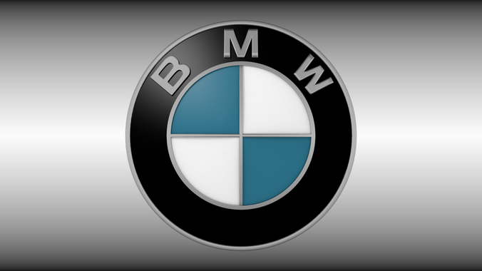 BMW logo3D model