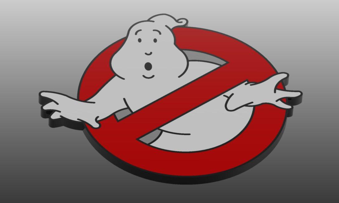 Ghostbusters Logo 3D Model .dwg - CGTrader.com