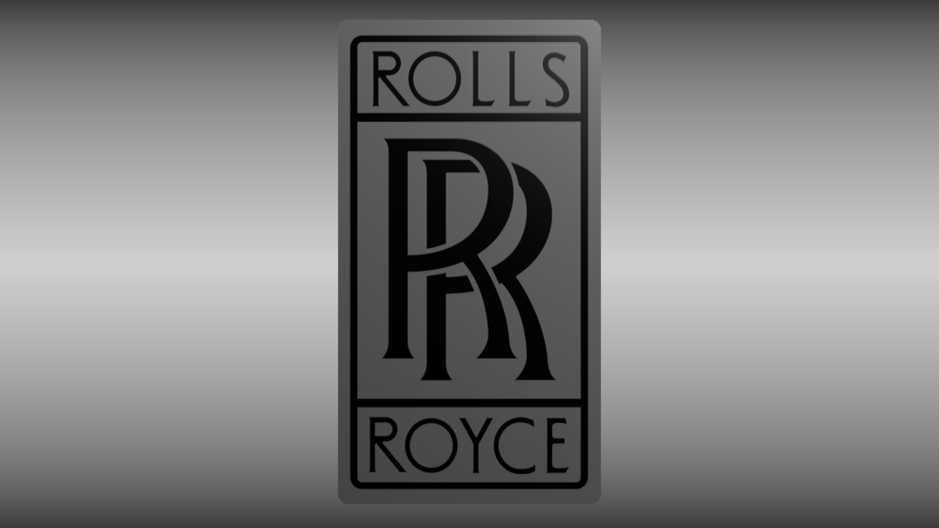 rolls royce logo free 3d model obj blend. Black Bedroom Furniture Sets. Home Design Ideas