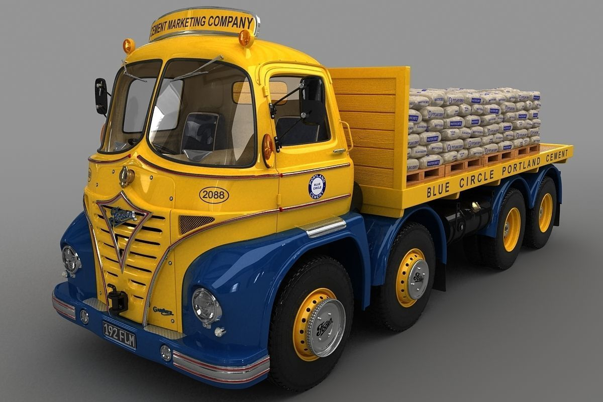 Foden S21 Flat Bed Truck 1962