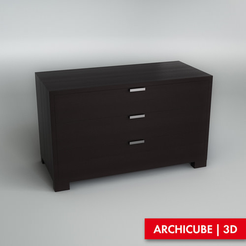 Chest of drawers 0023D model