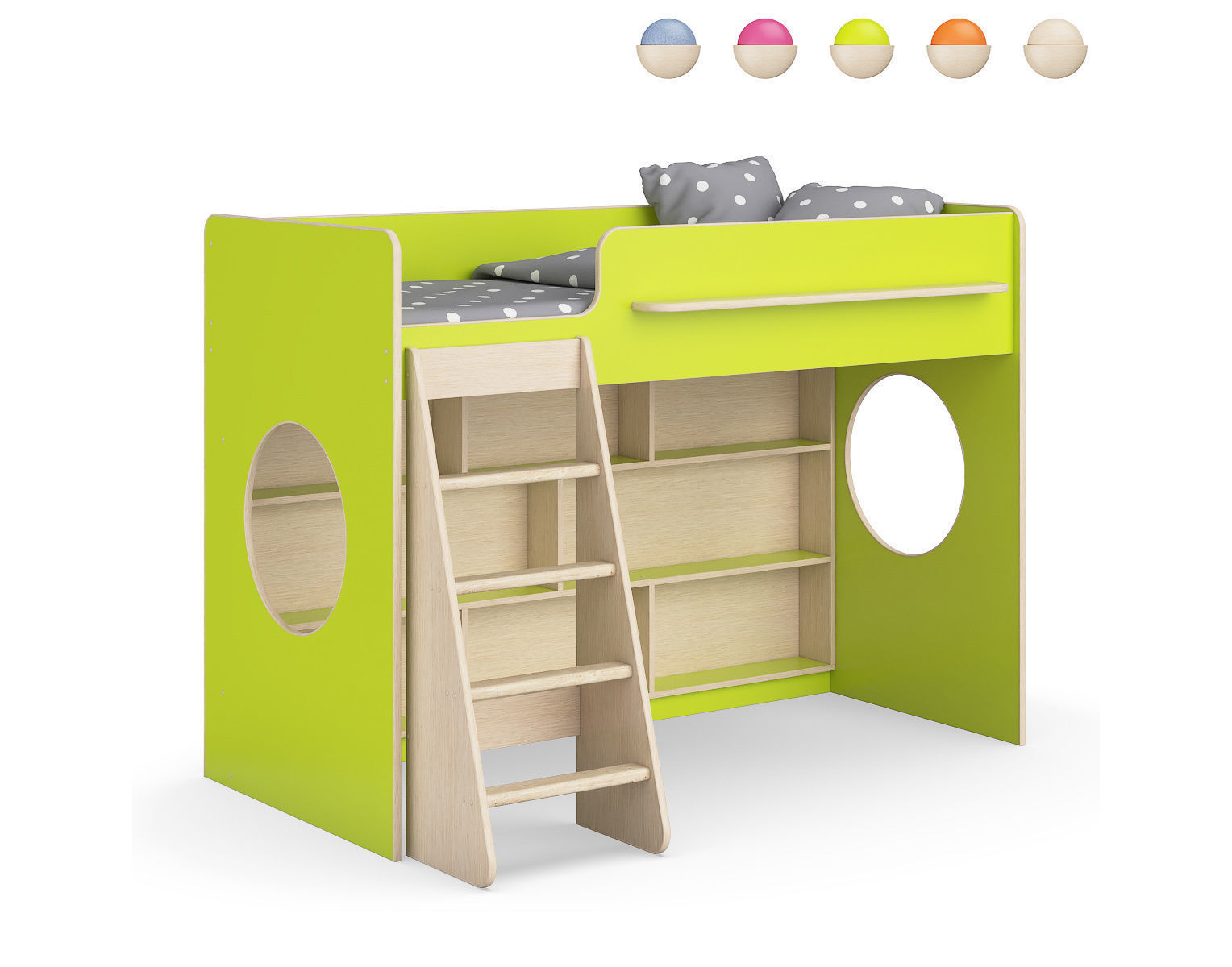 Legenda K26 with LP25 childrens modular bed