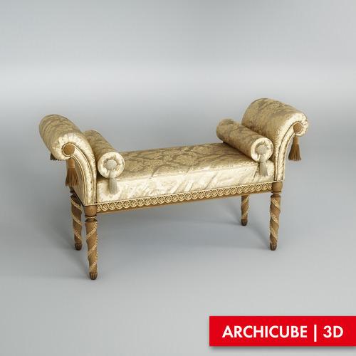 Classic Bench 0023D model