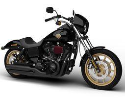 Harley-Davidson FXDL Dyna Low Rider S 2016 3D Model