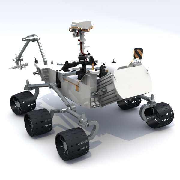 curiosity rover replica - photo #12