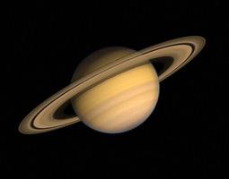 3d model planet saturn