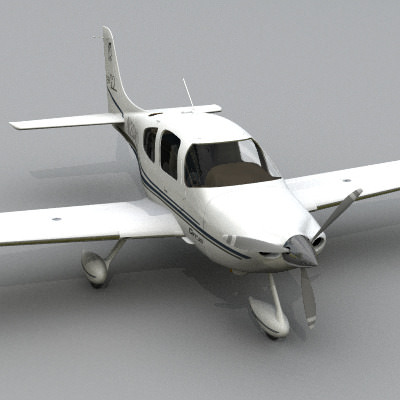 Civil Aviation Collection3D model