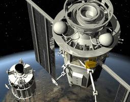 3d model killer satellite