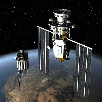 killer satellite 3d model lwo lw lws 1