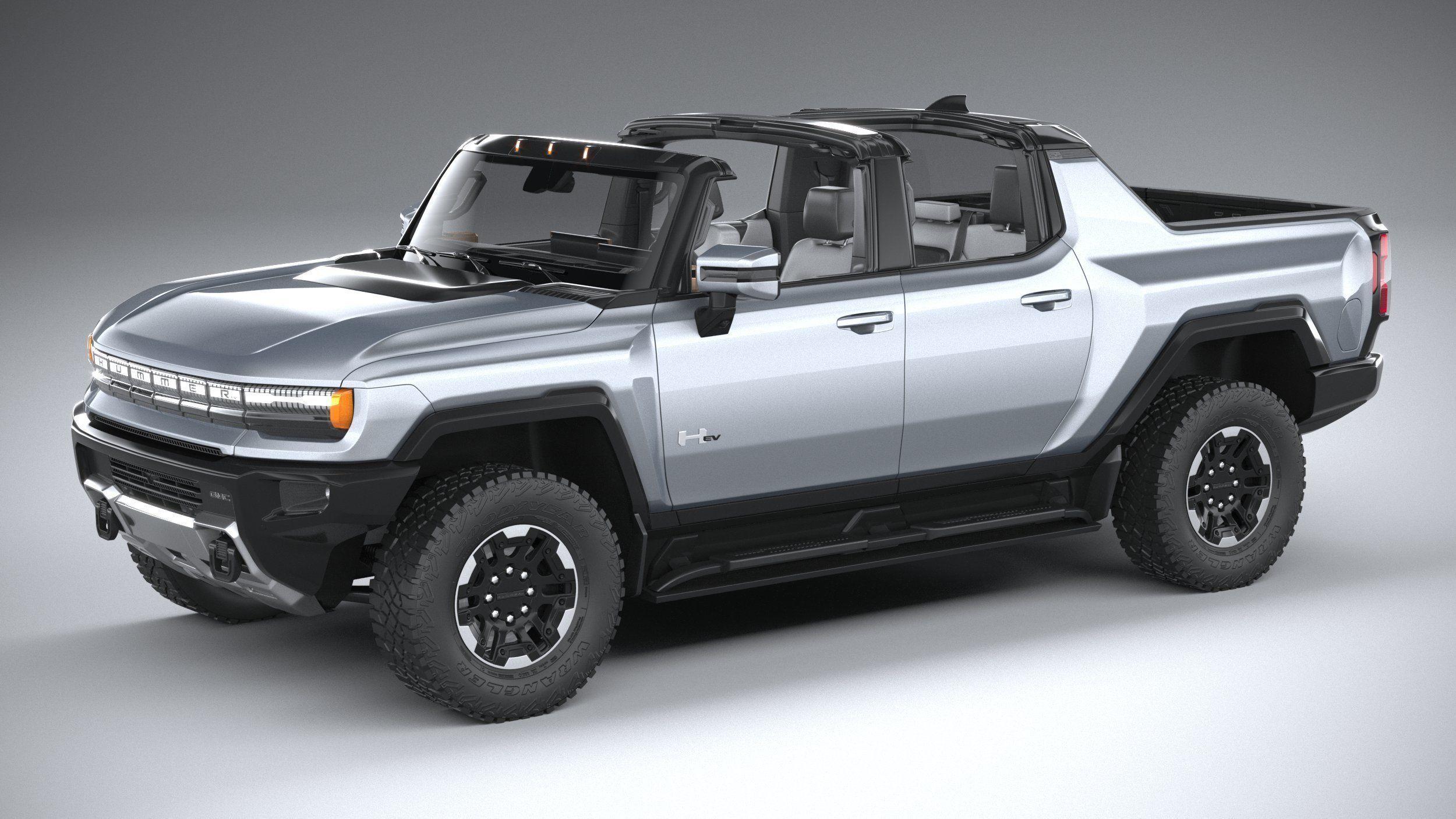 Hummer EV 2022 with interior