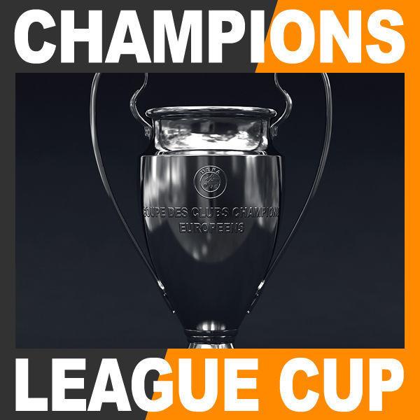 UEFA Champions League Cup Trophy