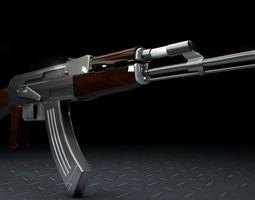 ak47 weapon 3d model