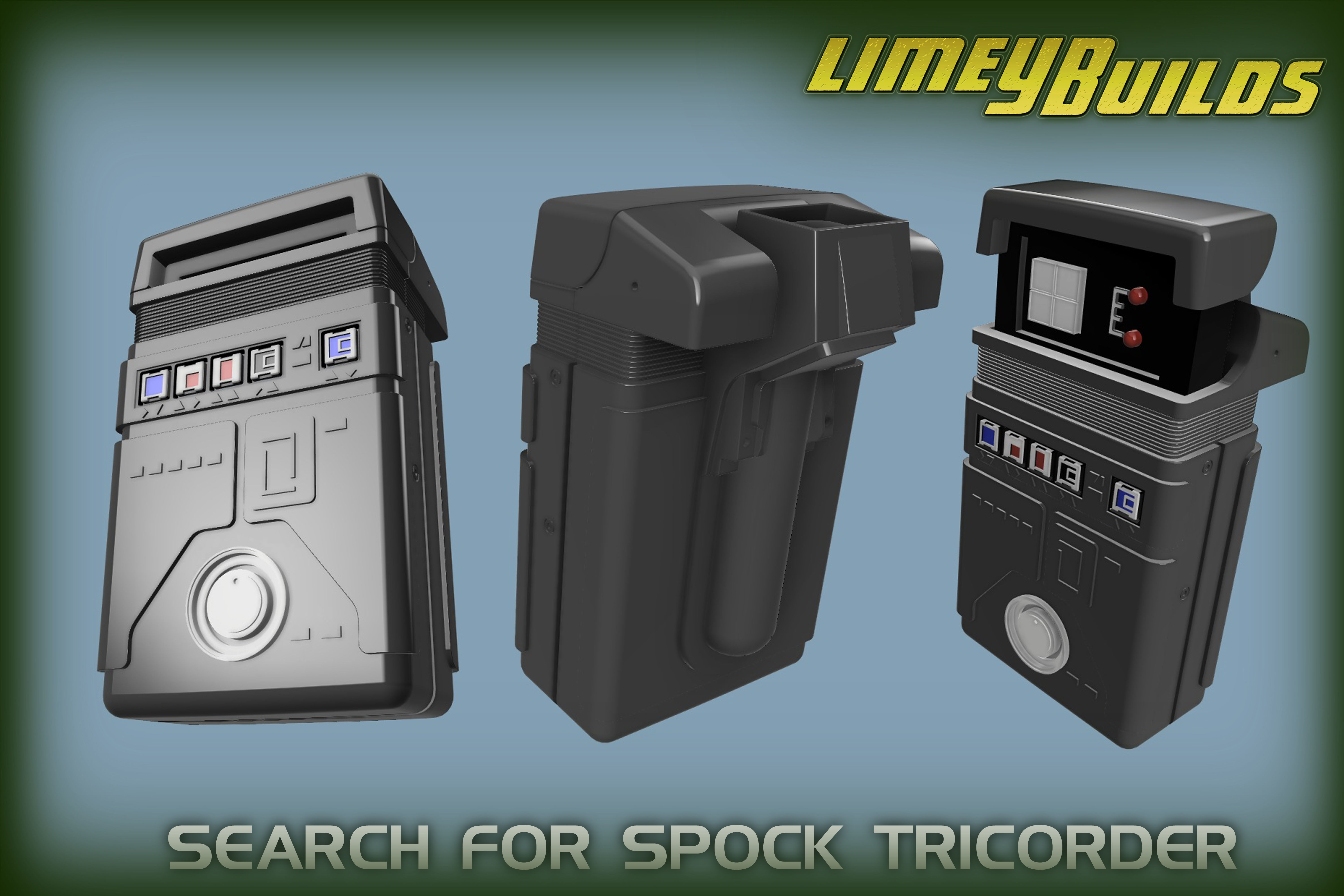 Search for Spock Tricorder