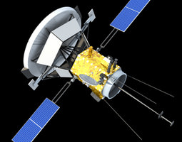 solar probe plus 3d model