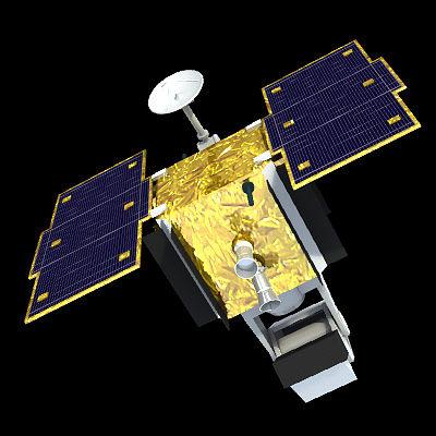 sbss spy satellite 3d model 3ds lwo lw lws 1