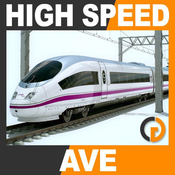 High Speed Train AVE Siemens Velaro