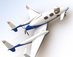 3d scifi future general aviation
