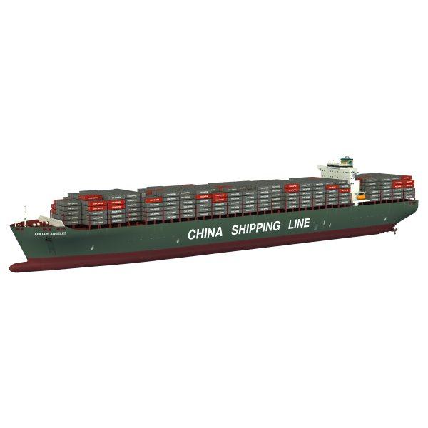 Xin Los Angeles Cargo Ship