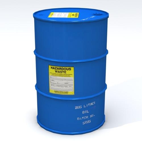 Hazardous 55 Gallon Drum3D model