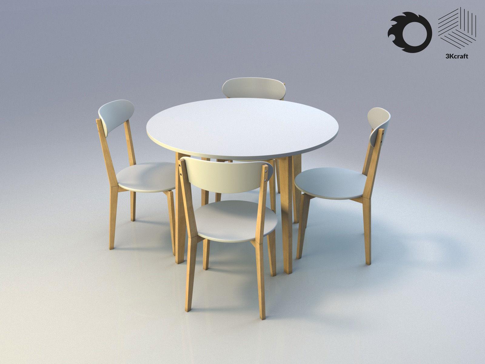 kitchen set JEGIND Jysk   9D model