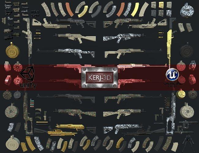 Adaptable Situational Rifle-All Variants