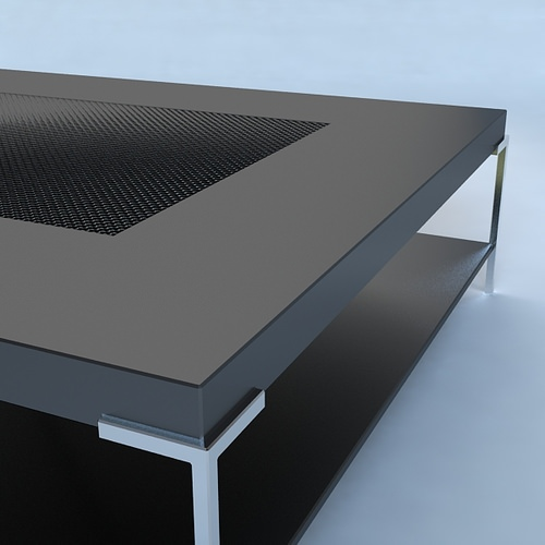 Coffee Table Contemporary Style3D model